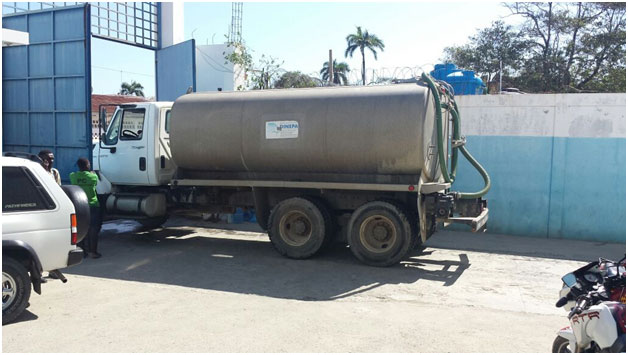 Water for Cap Haitian Prison