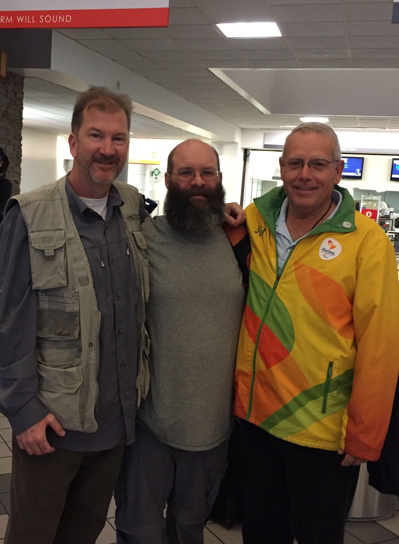 Eric Spangler, Brian Eskrige and Fred Sorrells