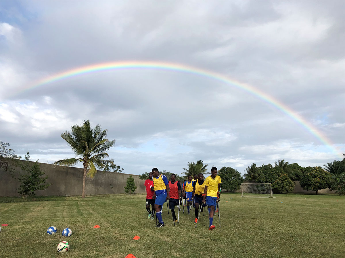 Haiti Amputee Soccer Training Camp