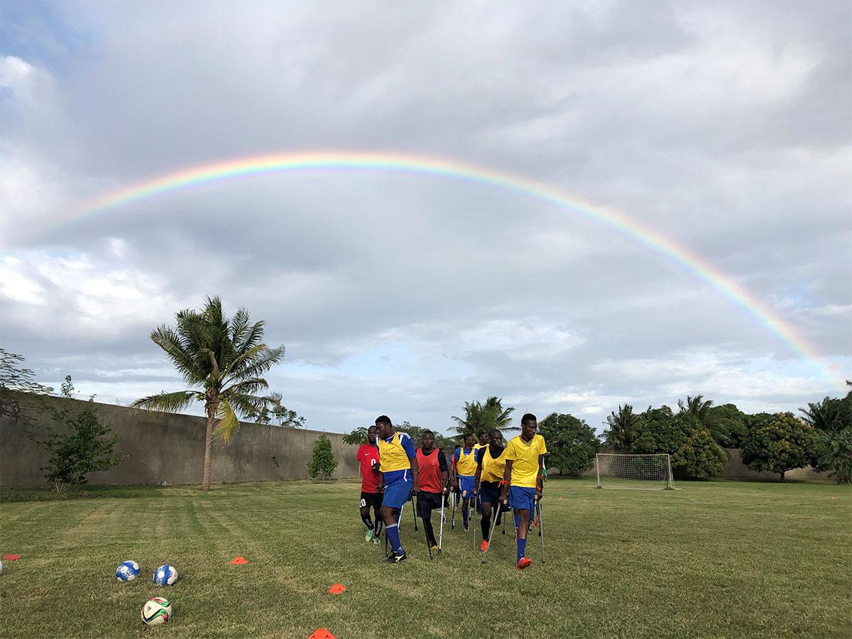 Haiti Amputee Soccer Training Camp