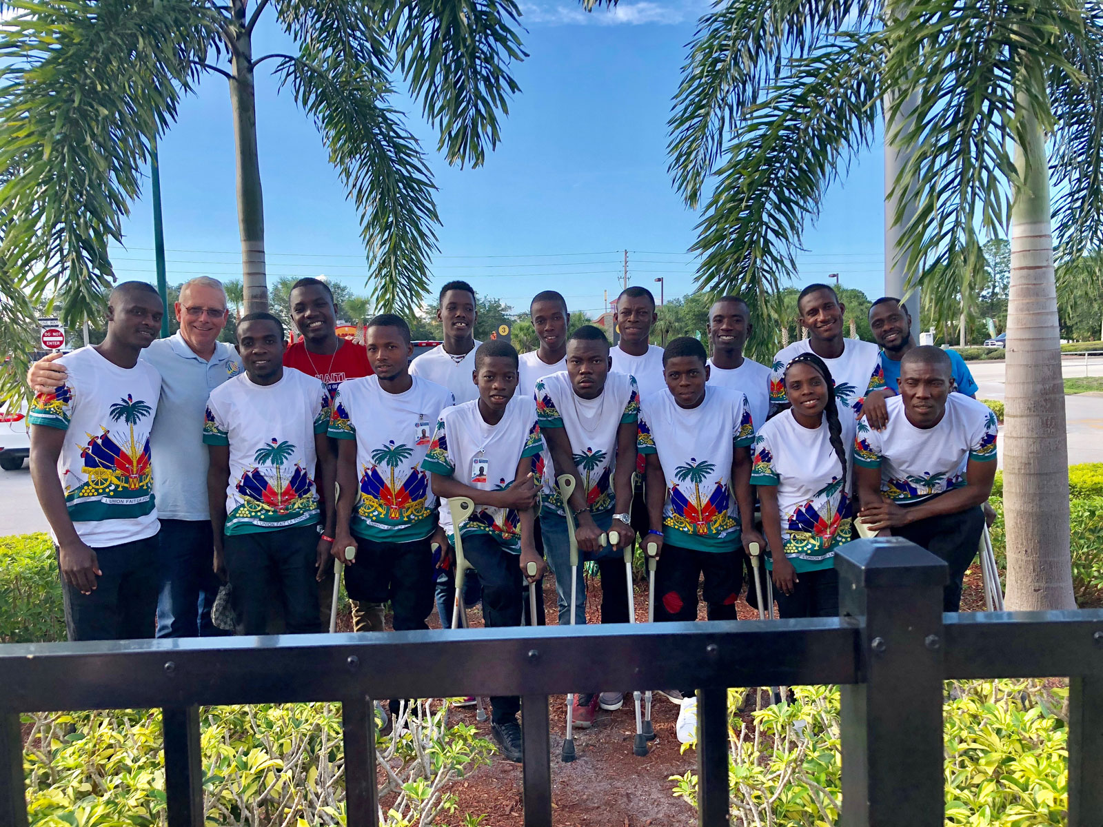 2018 Lone Star Invitational - Haiti Amputee Soccer Team